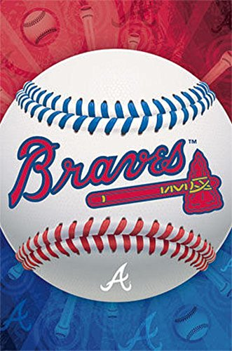 Atlanta Braves Logo Crystal - Trends International Atlanta Braves Logo Wall Posters, 22