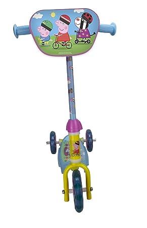 Peppa Pig Patinete 3 Ruedas: Amazon.es: Juguetes y juegos