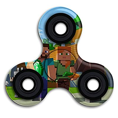 Minecraft Fidget Spinner Toy from Bethune_A