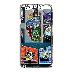 VIVIENRowland Samsung Galaxy Note3 Bumper Hard Cell-phone Case Customized Vivid Grateful Dead Skin [cwd12722QNZX]