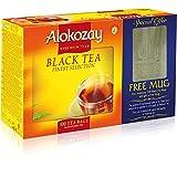 Alokozay Black (Orange Pekoe) Tea-100 Tea Bags with Free Consumer Mug, 200g