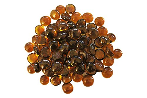 Firegear Fire Glass Beads (GB-GOLD), 16mm to 18mm, Gold, 5 Pounds (Beads 16mm 5)