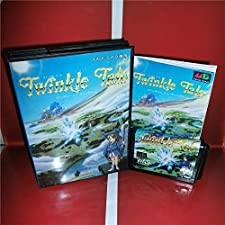 Twinkle Tale Japan Cover with Box and Manual for MD MegaDrive Genesis Video Game Console 16 bit MD card - Sega Genniess - Sega Ninento, 16 bit MD Game Card For Sega Mega Drive For Genesis