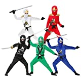GSG Ninja Costume for Kids Halloween Fancy Dress