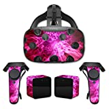 MightySkins Skin For HTC Vive Full Coverage - Red Mystic Flames | Protective, Durable, and Unique Vinyl Decal wrap cover | Easy To Apply, Remove, and Change Styles | Made in the USA