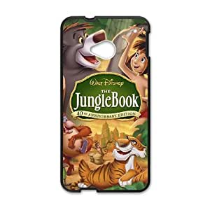 HTC One M7 Cell Phone Case Black Jungle Book Hard Phone Case Clear XPDSUNTR01840