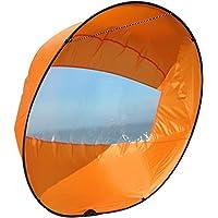 XHXseller vikbar kajak segel kajak segla paddel kanot omedelbar segling kit, roddbåtar vindfälld segel för kajaker…