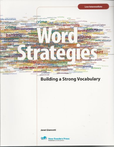 Word Strategies 2 by Janet Gianotti (2007-06-30)