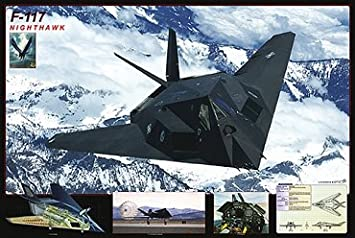 Poster F-117 Nighthawk - 91.5 x 61 cm