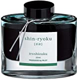 Pilot Iroshizuku Bottled Fountain Pen Ink, Shin-Ryoku, Forest Green, Dark Green (69214)