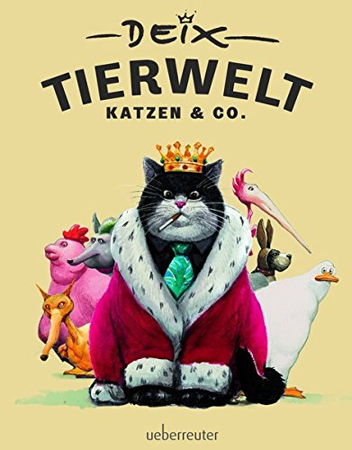 Tierwelt - Katzen & Co. Gebundenes Buch – 17. September 2015 Manfred Deix Ueberreuter 3800076373 Belletristik / Comic