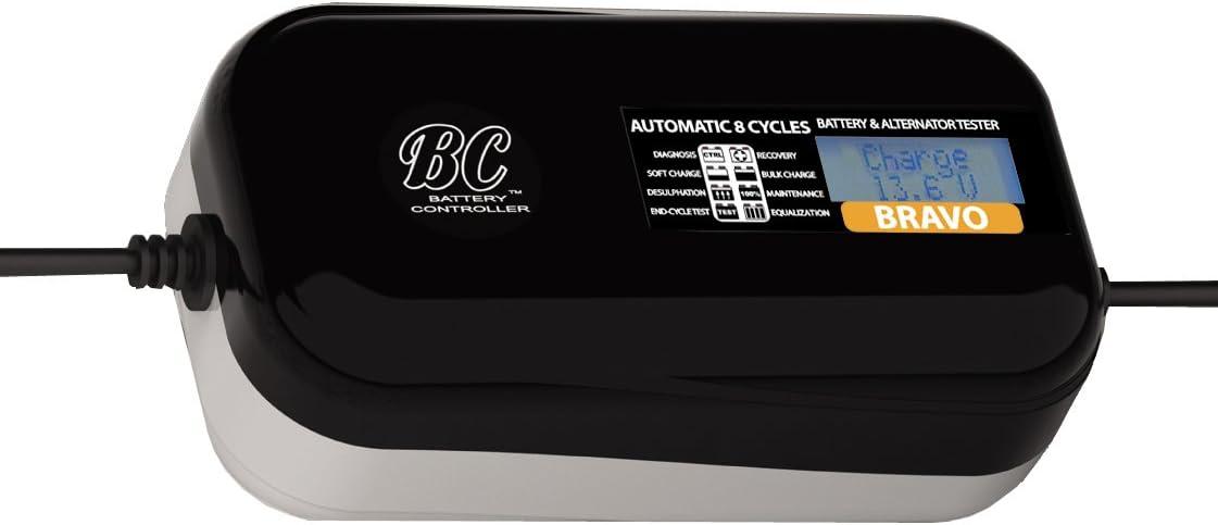 BC Battery Controller 708DEBCBMP Cargador Mantenedor de Baterías de 1,5 A y Comprobador de Batería y Alternador