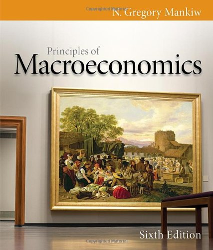 Principles of Macroeconomics, 6th Edition (Mankiw's Principles of Economics) -  Mankiw, N. Gregory, Paperback