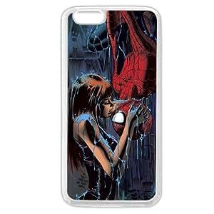 """UniqueBox Customized Marvel Series Case for iPhone 6+ Plus 5.5"""", Marvel Comic Hero Spider Man Logo iPhone 6 Plus 5.5"""