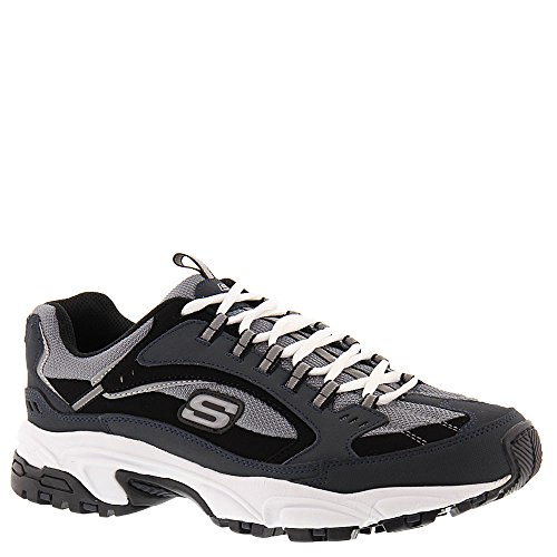 (Skechers Men's Stamina Cutback Navy/Black 14 E US E - Wide)