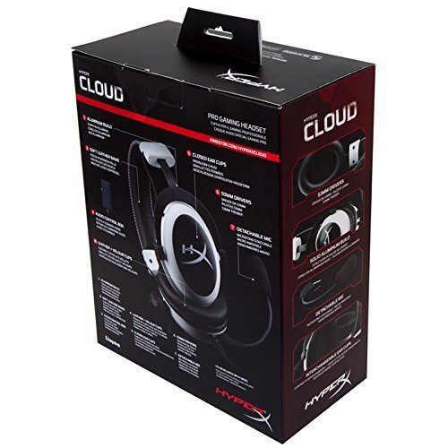HyperX Cloud II Gaming Headset - 7.1 Surround Sound - Memory Foam Ear Pads - Durable Aluminum Frame - Multi Platform Headset - Works with PC, PS4, PS4 PRO, Xbox One, Xbox One S - Red (KHX-HSCP-RD) by HyperX (Image #5)