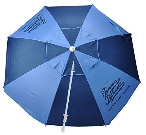 Tommy Bahama Sand Anchor 7 feet Beach Umbrella with Tilt and Telescoping Pole...
