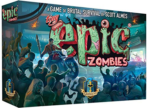 Tiny Epic Zombies a Strategy Board Game for Adults, Teens, and Family ()