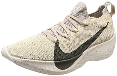 a90b6f6c5a5a NIKE Vapor Street Flyknit AQ1763-200 String Cream Rock Men s Running Shoes  (10)