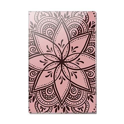 Henna Flower Art Tattoo Marriage Rectangle Acrylic Fridge Refrigerator Magnet