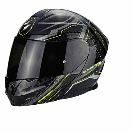 Amazon.es: Scorpion Casco Moto EXO-920 Satellite, Black/Neon ...