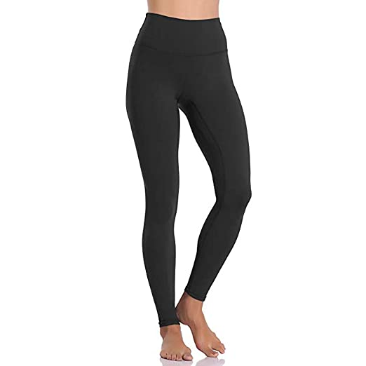 e68ffbbfd0 Image Unavailable. Image not available for. Color: VICCKI Women's High Waist  and Tight Fitness Yoga Pants Nude Hidden Pocket ...