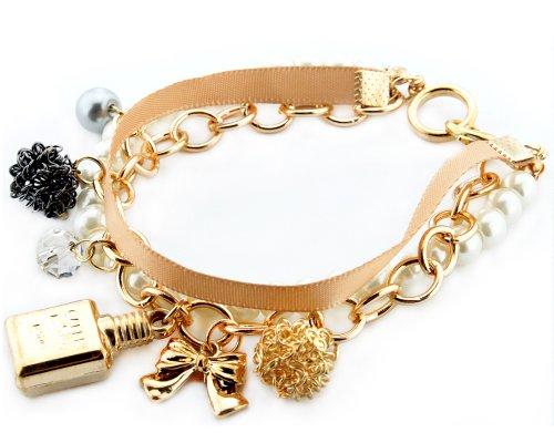 Bonamart Bracelet Bangle Jewelry, Gold Bangle for Women Bracelets for Girls -Clearance SALE