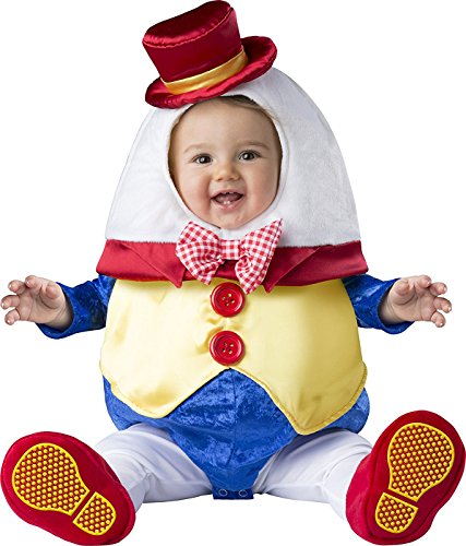 Fun World Baby Humpty Dumpty, Multi, (Baby Humpty Dumpty Costume)