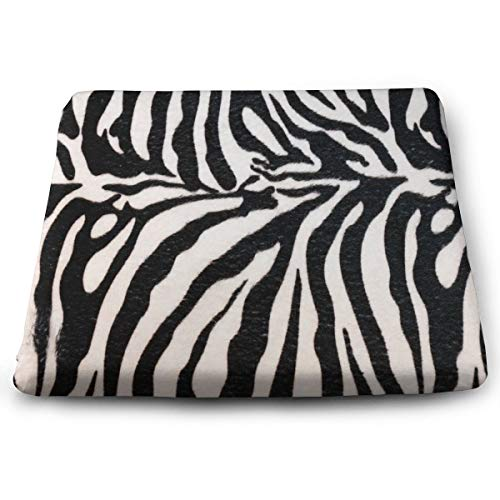 - Ladninag Seat Cushion Animal Print Zebra Texture Chair Cushion Offices Butt Chair Pads for Cars/Outdoors/Indoor/Kitchens/Wheelchairs