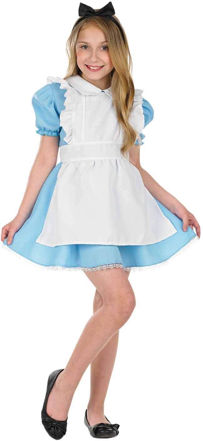 Fun Shack Azul Alice Tradicional Disfraz para Niñas - XL: Amazon ...
