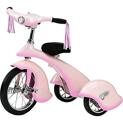 Amazon.com: Morgan ciclo rosa hada Retro triciclo: Toys & Games