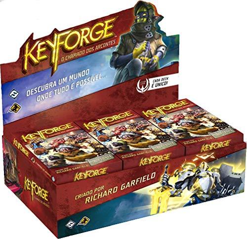 Keyforge: O Chamado Dos Arcontes (Deck Display), Galápagos Jogos