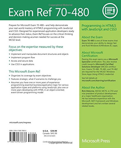 70-480 programming in html5 with javascript and css3 ebook