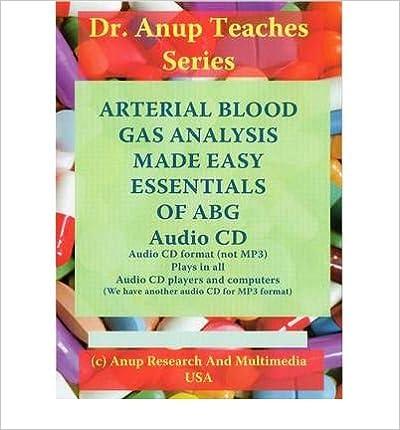 Downloading books from google books ABG - Arterial Blood Gas Analysis Made Easy (CD-Audio) - Common på dansk PDF CHM ePub B00FBBSJ8S