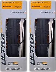 Continental Ultra Sport III Folding PureGrip Set of 2