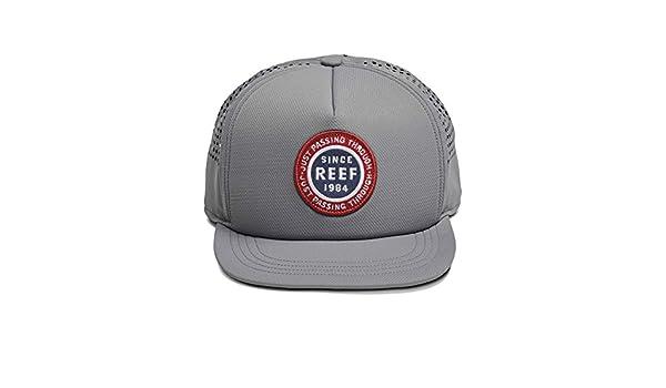 Reef_Apparel Reef Trek Hat Gorra de béisbol, Gris (Grey Gre ...