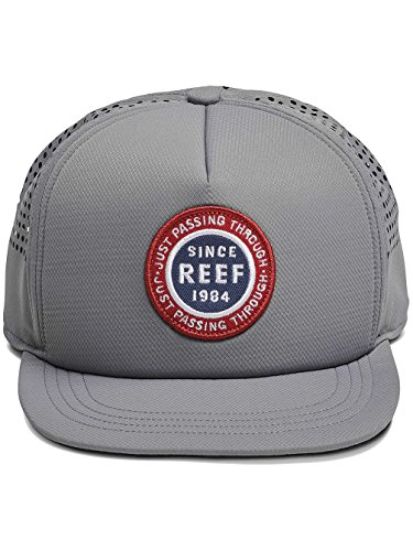 Gris Apparel Reef Gre Béisbol Grey Gorra Trek única para Talla de Hat Hombre Reef qFFdz