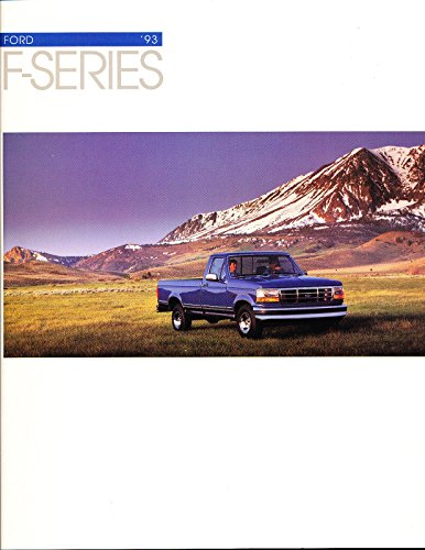 Ford F150 Collectibles - 1993 Ford F-Series F-150 Truck 18-page Original Car Sales Brochure Catalog