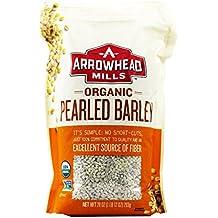 Arrowhead Mills Organic Pearled Barley, 28 Ounce