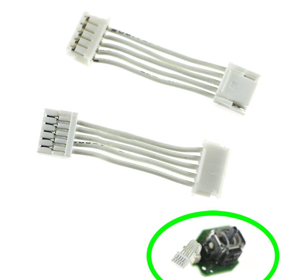 3D Analog Joysticks Module Connect Cable Flex Cable Replacement For Wiiu WII U Pad 2PCS/ LOT