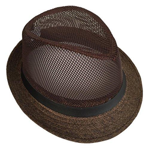 苗ありふれた破裂(ビグッド)Bigood 中折れハットレディース ハット つば広 帽子 ストローハット メンズ 帽子 日よけ UVカット 麦わら帽子 アウトドア 春夏 リゾート ブラウン