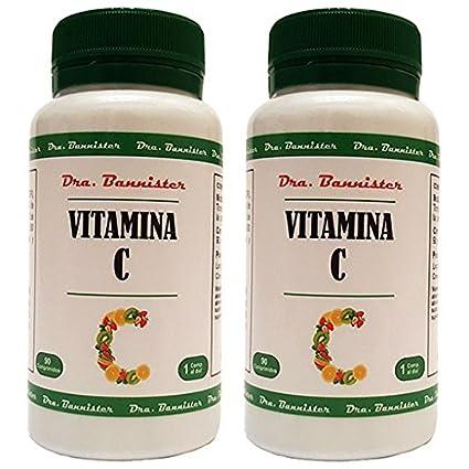 VITAMINA C 1000 mg. 2 x 90 comprimidos. Dra. BANNISTER