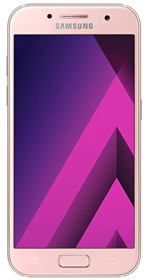 Samsung Galaxy A3 2017 Smartphone libre (4.7, 2GB RAM, 16GB, 13MP), color Peach-Cloud