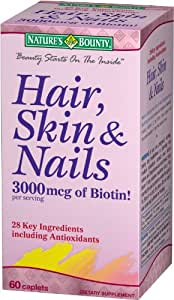 Nature's Bounty Hair, Skin & Nails, 60 caplets
