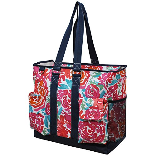 All Flowers in the Garden NGIL Tall Canvas Tote Bag