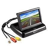Car Rear View Backup Monitor, Esky 4.3 Inch Digital TFT LCD Screen Display for Vehicle Reversing Backup Parking Camera