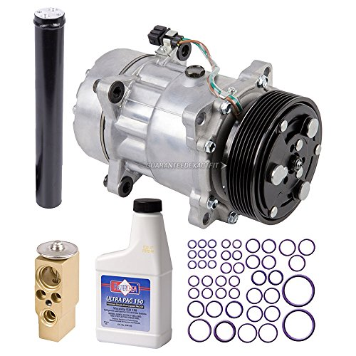 New AC Compressor & Clutch With Complete A/C Repair Kit For VW Eurovan - BuyAutoParts 60-80385RK New