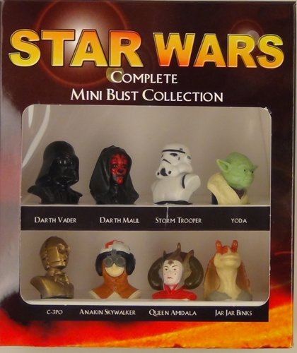 Star Wars Complete Mini Bust Collection (Damaged Packaging) NEW Excell Marketing