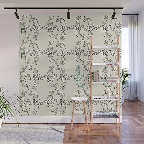 little mermaid wall cover - 8