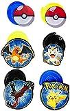 Amscan 12 Count Pokemon Foil Swirl Decorations, Multicolor